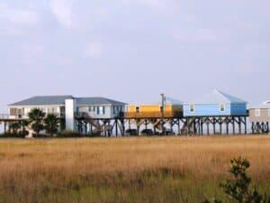 Vacation homes on Grande Isle