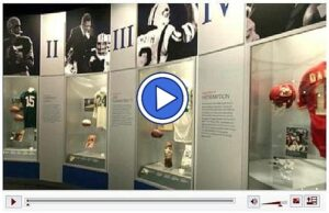 Video tour of Pro Football Hall of Fame