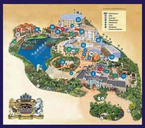 Map of the Holy Land Experience
