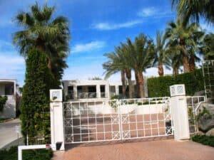 Debbie Reynolds's house in Palm Springs.