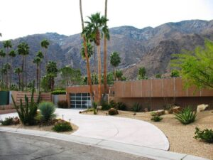 Desert Modern architecture in Palm Springs