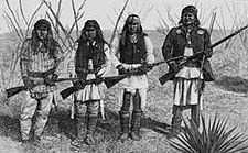 Armed Apaches in the Apache Wars