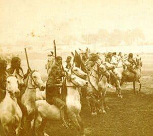 Indians preparing to attack