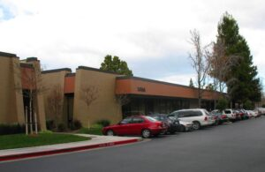 Apple Computer's original location in Silicon Valley