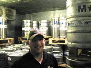 Dustin Boast of Road Dog Brewery Tours.