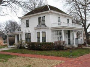 Eisenhower's boyhood home in Abilene, KS