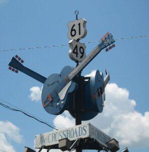 Clarksdale crossroads.