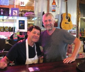 Malcolm Logan and Tom Bingham of The Gin Mill in Indianola, MS