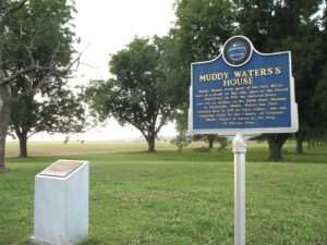 Muddy Waters Home Site Blues Marker on the Blues Trail