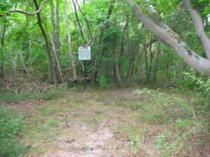Garrett Farm site where John Wilkes Booth died