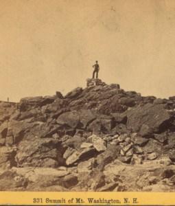 Mt. Washington summit 1860