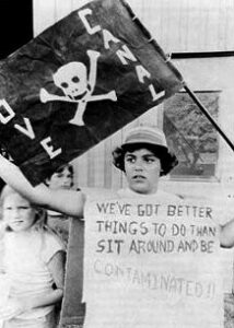 Love Canal protestor