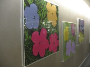 Andy Warhol's Flowers at the Mayo Clinic