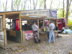 Central command center at Paintball Indiana
