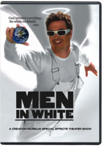 Men in White show at The Creation Museum