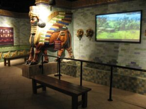 The Creation Museum Babylon room