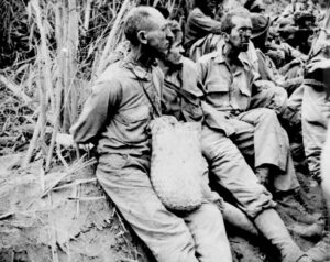 POWs at Bataan Death March