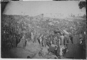 Overcrowding at Andersonville prison