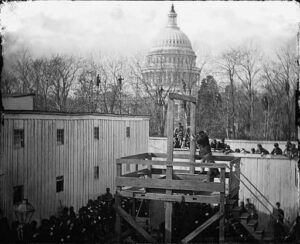 The execution of Henry Wirz