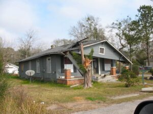 Home in former Africatown community of Mobile