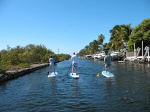Stand up paddleboarding Key West