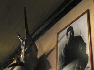 Hemingway and swordfish at Sloppy Joes in Key West