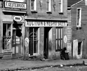 Africatown, Mobile, Alabama, Negro slave market