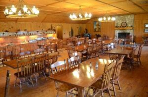 The Round up Room at the Running R Ranch
