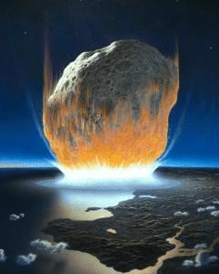 Kitt Peak Observatory, asteroid strike image