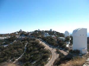 Observatories atop Kitt Peak, Arizona
