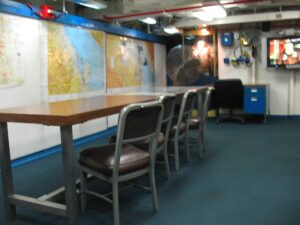 War Room of USS Midway