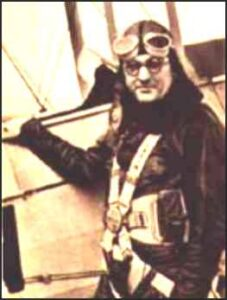 Leslie Irvin, the first skydiver to jump from an airplane