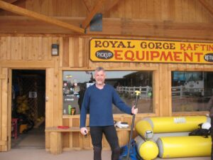 Malcolm Logan at Royal Gorge River Rafting in Canon City, CO