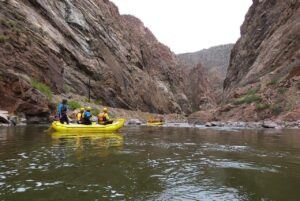 The Arkansas River near the Parkdale Access for Royal Gorge River Rafting