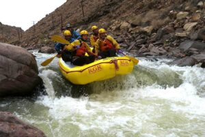 Into Wall Slammer on the Arkansas River in the Royal Gorge