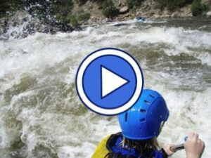 Video link to Big Smokey Rapids on the Wolf River