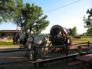 Oregon Trail Wagon Ride