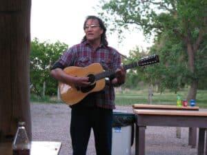 Sing-along at The Oregon Trail Wagon Ride