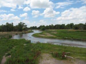 Platte River near Fort Kearny, Nebraska