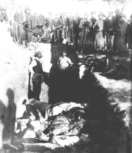 Mass grave at Wounded Knee
