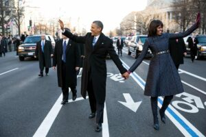 Obama's second inaugural parade