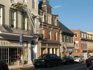 Bedford, PA is a quaint 18th century town
