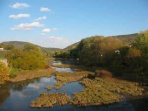 The Juniata River in Bedford, PA