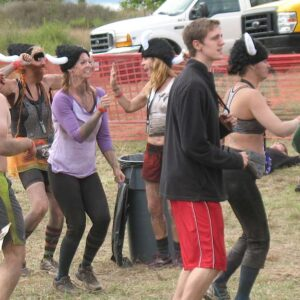 After party at the Warrior Race in Grand Rapids, MI