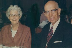 My other grandmother, Julia Bell Logan, along with my grandfather David Logan sometime in the late 1960's.