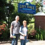 Malcolm Logan and Adele Bowen at Lily Dale Assembly
