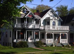 The lovely Victorian architecture in Lily Dale transports you back to an earlier, simpler time.
