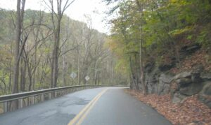 A road through Hatfield and McCoy country