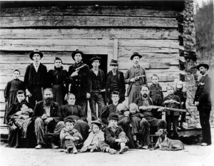 The Hatfield clan in the 1880's