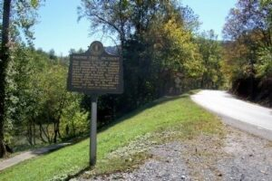 Site of the Paw Paw tree killings on the Hatfield and McCoy driving tour